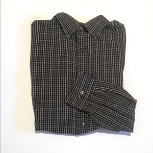 Van Heusen Classic Plaid Button Down Shirt